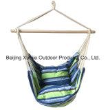 Schneller im Freien deluxer hängendes Seil-Stuhl-im Freienportal-Schwingen-Yard-Baum-Hängematten-Baumwoll-Polyester mit Kissen 2