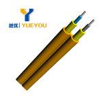 Duplex do cabo Om2 50/125 2.0mm da fibra óptica, LSZH Cubierta (COR AZUL)