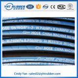 Glatte Oberflächenfaser-umsponnener hydraulischer Gummiluft-Schlauch