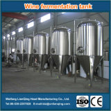 De Tank van de Gisting van de Wijn van het roestvrij staal/de Tank van de Gisting van het Bier van de Rang van het Voedsel