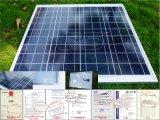 태양 모듈, 태양 강화된 배터리 충전기, 태양 전지 시스템을%s PV 모듈을%s 가진 60wp Sillicon Monocrystalline 또는 다결정 태양 전지판