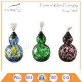 Lâmpada de petróleo de vidro da decoração do feriado, lâmpada de querosene