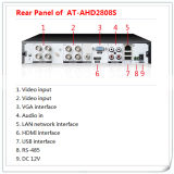 3 in 1 Hybrid 1080P 8CH Ahd DVR Recorder Surveillance Digital Video Recorder