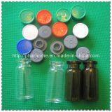 De duidelijke 10ml Flesjes van het Glas met Kurk en Tik van GLB, AmberFlesjes, Bruine Flesjes
