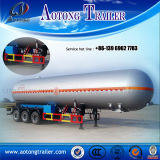 판매 (LAT9400GHY)를 위한 화학 반 액체 3 차축 유조선 트레일러