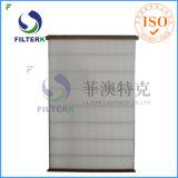Filtro lavable del panel del plisado del poliester