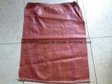 Красный вкладыш сплетенный PP с мешком сбывания /Hot шнура сплетенным PP для Кореи
