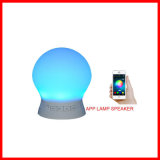3D Sound USB Audio Driver LED Lamp Mini Wireless Bluetooth Speaker