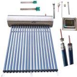 Riscaldatore di acqua calda termico solare ad alta pressione del collettore della valvola elettronica del condotto termico dell'acciaio inossidabile