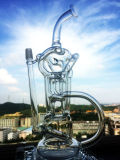 12インチのシャワー・ヘッドのPerc 18mmの卵のPercのガラス煙る管