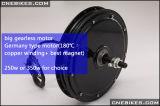 36V 350W de Elektrische Uitrusting van de Motor van de Fiets Brushless Voor of Achter