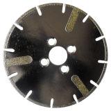 Roda de moedura segmentada Electroplated do copo do diamante com PONTO (JL-EDGD)
