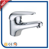 De bronze escolhir o misturador da bacia do punho para o banheiro com o cromo terminado