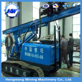4m Depth Crawler Type Pressure Pile Driver Vibration Piling Machine