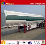 3 des essieux 35-55m3 d'essence de réservoir de stockage de pétrole d'essence de camion-citerne remorques semi