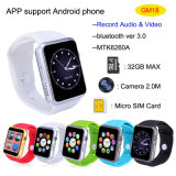 Telefone esperto do relógio de Bluetooth 3.0 com câmera 2m (GM18)