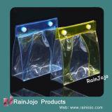 PVC respectueux de l'environnement Cosmetic Bag avec Button