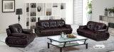 革ソファー、中国の現代ソファー、居間の家具(316)