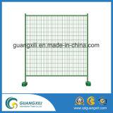 Beweglicher galvanisierter temporärer Zaun für Straßenbau-Site