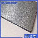 panneau 3D composé en aluminium en bois pour la façade de construction