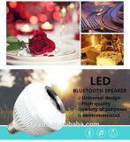 De Spreker van Bluetooth van de goedkoopste Luide Correcte LEIDENE Bol van de Lamp met Afstandsbediening