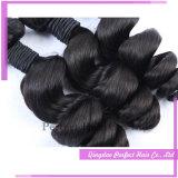 O cabelo brasileiro do Virgin do cabelo humano de Remy afrouxa a onda