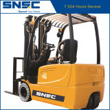 Forklift elétrico Three-Wheel pequeno do dever 1.6ton de Snsc