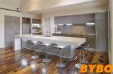 高い光沢のある2PAC終わりの台所(BY-L-115)が付いている現代贅沢な材木