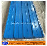Hoja azul del hierro del color para la hoja del material para techos
