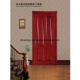 Красивейшая дверь комнаты сердечника PVC деревянная полая