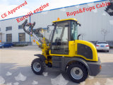 Generation novo Er08 Small Wheel Loader com Rops&Fops