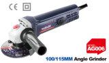 Точильщик угла точильщика 600W електричюеских инструментов 100/115mm электрический (AG006)