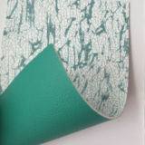 cuoio della borsa dell'unità di elaborazione del fronte del doppio di modo di spessore di 2.0mm con il fiore di stampa