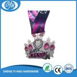 Kundenspezifische Fabrik-Decklack-Medaillen-surfende Punkt-Medaille mit Farbband