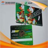 Cartão plástico da identificação do cartão da qualidade superior Cr80 VIP RFID