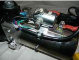 リモートと単動12ボルトの水力の単位-