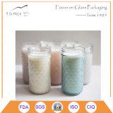 중국 공장 전체적인 판매 유리제 식품 보존병 초, 촛대