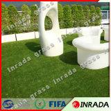 Hierba artificial simple pero útil del césped para que valor del patio compre