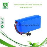 18650 packs batterie de lithium 14.8V 6600mAh pour des appareils médicaux, lumière de phare