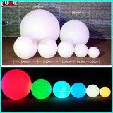 점화 드는 공을 꾸미는 DMX LED 상승 색깔 공