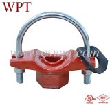 Wpt Brand U-Bolted Mechanical Tee Threaded с UL&FM Certificate