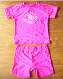 Розовый и мягкий Swimwear для малышей, brandnew Swimsuit, одна часть