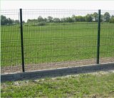 Nylofor 3D Fechten/geschweißtes Ineinander greifen-Panel-Zaun