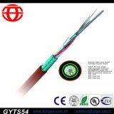 Double câble fibre optique de gaine de PE dans le prix bas