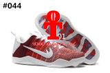 (Con el rectángulo) 11 zapatos de baloncesto bajos rojos blancos Los zapatos baratos de los hombres calzan la gota de los zapatos de baloncesto del Mens de las zapatillas de deporte de la élite de los EEUU Xi que envía libremente