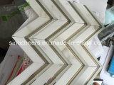 Mattonelle del marmo dell'oro di Calacatta, oro di Calacatta, marmo dell'oro di Calacatta