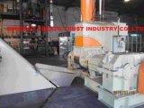 최신 판매 첨단 기술 PE/PP/LLDPE/EVA/Carbon 까만 Masterbatch 압출기 기계