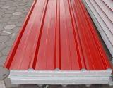 strato d'acciaio ondulato galvanizzato del tetto ricoperto colore di 0.14-0.8mm