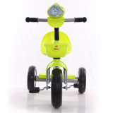 販売のためのミュージカル3カラー金属の子供の三輪車