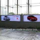 Van de LEIDENE van het Frame van het aluminium Uithangbord van de Doos Banner van Media het Lichte